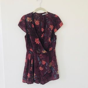 Urban Outfitters Dresses - Kimchi Blue Floral Romper